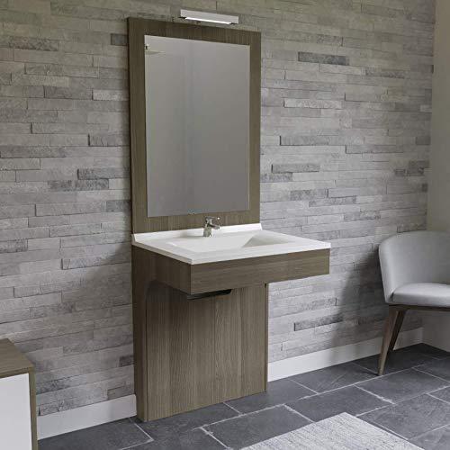 UneSalleDeBain Meuble Simple Vasque PMR Altea Vienna - 70 cm