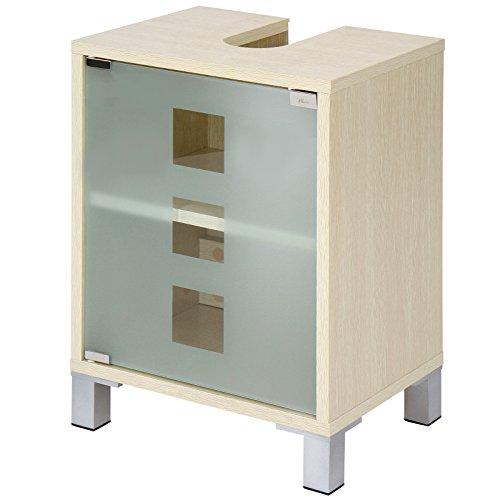Waschbeckenunterschrank mit zwei Einlegeböden - 2