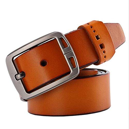 Men Genuine Leather Belt Man Fashion Strap Male Cowhide Belts Jeans Cow Leather
