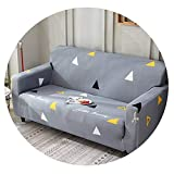 Happiness-shops Modern Sofa Cover All-inclusive Slip-resistant Sofa Towel Elastic Corner Sofa Sectional Covers Sofa Slipcover 1PC,15,2 seat