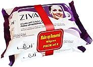 مناديل زيفا لإزالة المكياج، عبوة من 2 × 25 منديل (50 منديل)