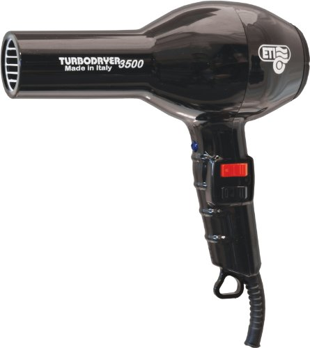 ETI Turbodryer 3500 Professional Salon Hair Dryer – Black
