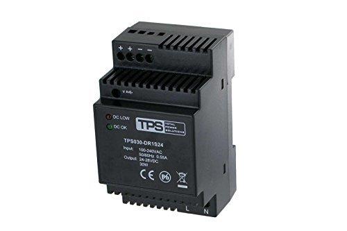 Preisvergleich Produktbild 30W HomeMatic RS485 96103 Hutschienen-Netzteil, stabilisiert, TDR30-24VK, 24V, 1250mA - TPS Elektronik