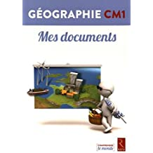 Géographie CM1 - Livrets Mes documents (pack de 6)