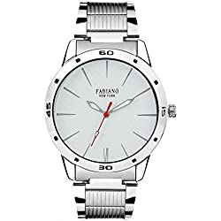 Fabiano New York Analog White Dial Men's Watch - FNY002