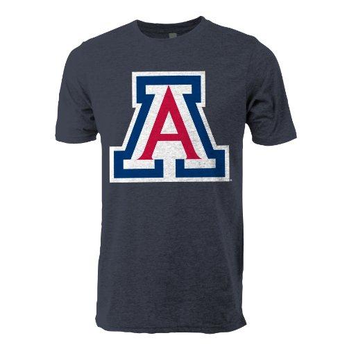 Ouray Sportswear NCAA Arizona Wildcats Vintage Sheer T-Shirt, Herren Erwachsene, Herren, Marineblau (Heather Navy), Large
