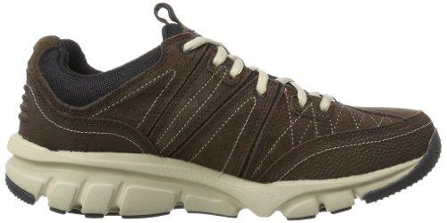 Skechers - BipedBig Ticket, Sneakers da uomo Marrone (Braun (CHBK))