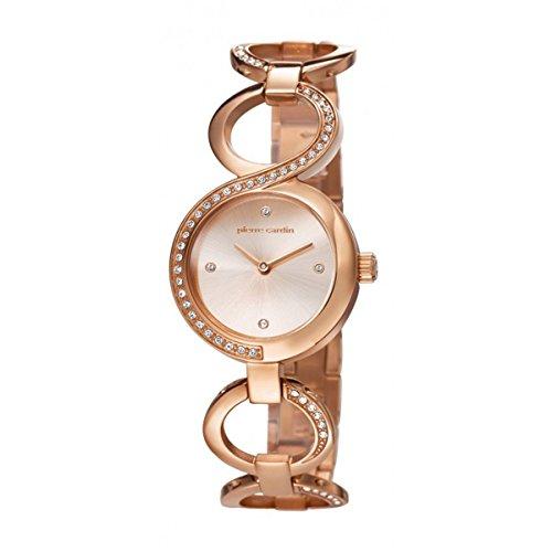 Pierre Cardin JOLIETTE Orologio da donna in acciaio INOX Oro Rosa acciaio inox Band Rose Gold PC106602F04