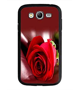 PrintDhaba Red Rose D-1143 Back Case Cover for SAMSUNG GALAXY GRAND NEO (Multi-Coloured)