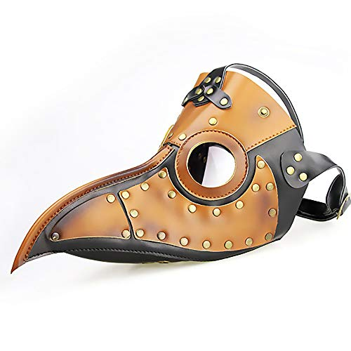 LBAFS Halloween Maske Steampunk Punk Pest Vogel Schnabel Maske Maskerade Requisiten