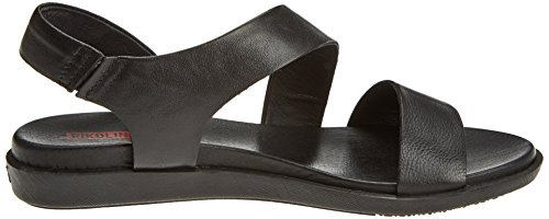 Pikolinos Ladies Antillas W0h Open Sandals Black (nero)