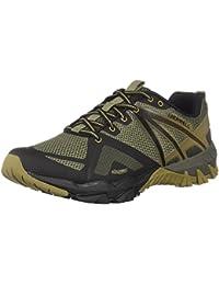 Merrell Vapor Glove 2 - Zapatillas Deportivas Para Hombre, Color Gris (Grey/Spicy Orange), Talla 50 EU amazon-shoes Primavera/Verano