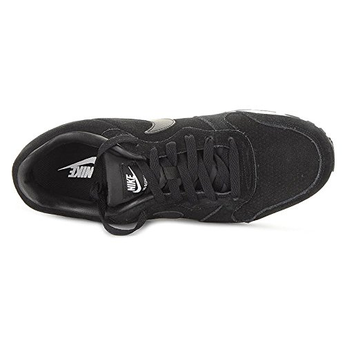 Nike MD Runner 2 Leather Prem, Sneaker uomo Multicolore (Negro / Blanco (Black / Black-White))