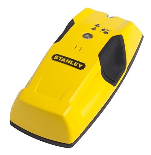 Stanley Materialdetektor S100 (audiovisuelle Ortung, Holz-/Metallträgern, 19