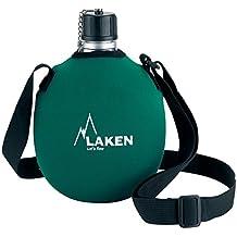 Laken Cantimplora de Aluminio 1L con Funda de Neopreno Verde