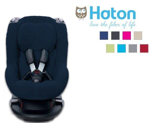 Haton - Funda para silla de coche grupo 1, color marino