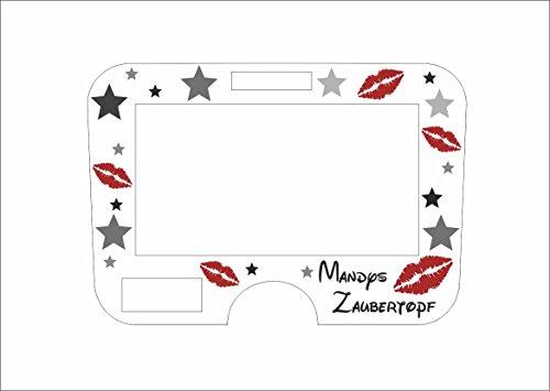 Displayschutzfolie für Monsieur Cuisine Connect Lippen rot