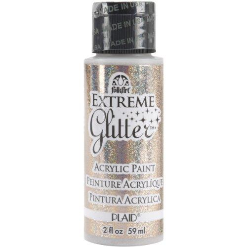 FolkArt Extreme Glitter Farbe (2Unze), champagnerfarben, 2 Ounce