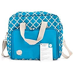 We R Memory Keepers – Tela Crafter 's hombro bag-15.5-inch (43,2 x 43,2 cm x 9,5 x Aqua
