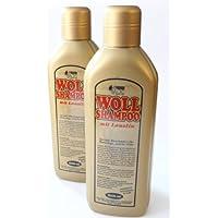 Woll-Shampoo Gold mit Lanolin 2er Set von Schmees 2000ml, Wollreiniger, Wollshampoo, Waschmittel