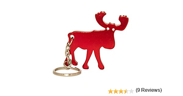 lillybox Porte-cl/és d/écapsuleur Rouge M/étallique /élan