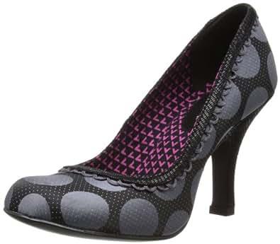 Ruby Shoo Women's Naomi Court Shoes 08417 Grey 5 UK, 38 EU