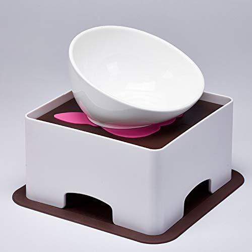 LXLLXL Pet Geschirr Keramik Bull Bowl Hundenapf Cat Bowl Pet Bowl -