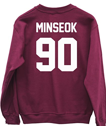 hippowarehouse-minseok-90-printed-on-the-back-unisex-jumper-sweatshirt-pullover
