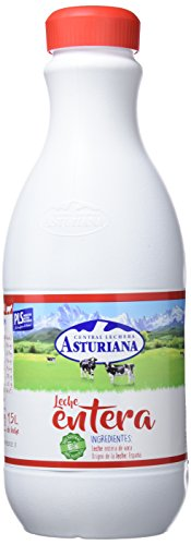 Foto de Central Lechera Asturiana - Leche UHT Entera - Botella 1500 ml - Pack de 6 (Total 9000 ml)