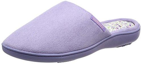 isotoner-isotoner-suedette-mule-slippers-zapatillas-de-casa-mujer-morado-lilac-38