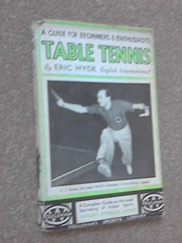 Table Tennis Guide Beginners par Hyde