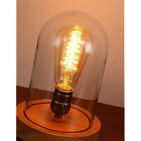 ZSQ E27 5*10cm 5-10?220V Interruptor de botón Registro nórdica contratada Retro Decoración lámpara Luz LED , blanco #803