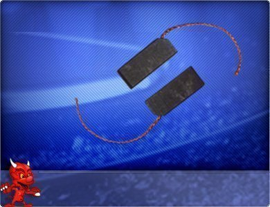 Preisvergleich Produktbild Kohlebürsten passend für Siemens WASH&DRY6143