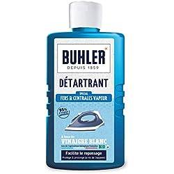 buhler Détartrant Fers à Repasser Flacon de 375 ml - Lot de 3