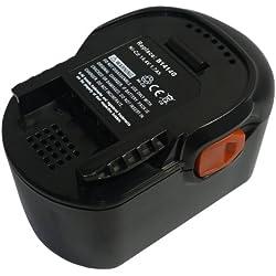 PowerSmart® 1700mAh 14.4V NiMH Batterie B1414G, B1415R, B1420R, M1430R, pour AEG BS 14 G, BSB 14 G, BS14X-R, BS 14X-R, BS 14 X-R