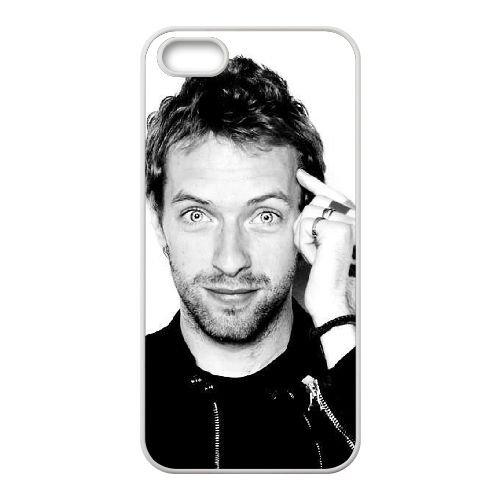 Coldplay coque iPhone 5 5S Housse Blanc téléphone portable couverture de cas coque EBDXJKNBO17255