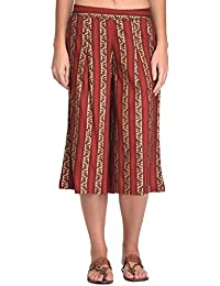 Rapsodia Women Red Printed Culottes