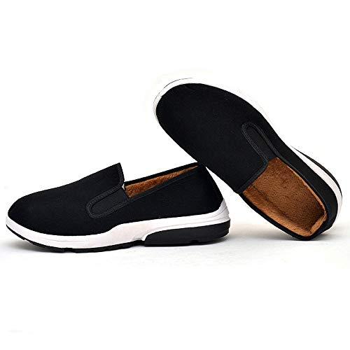 Moika scarpe invernali da uomo in cotone, comode scarpe da uomo in cotone con chiusura