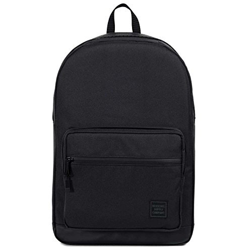 """Herschel Pop Quiz Black backpack - Backpacks (Black, Monotone, Unisex, 38.1 cm (15""""), Front pocket, Zipper)"""
