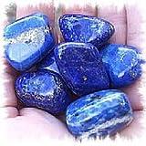 Wicca/Bell Book And Candle: Ye Olde Shoppe magia aliados de materiales 1 pc Natural cayó lapislázuli piedra de Afganistán grande 2,54 cm cristales pulidos para Reiki veladamente porción al por mayor