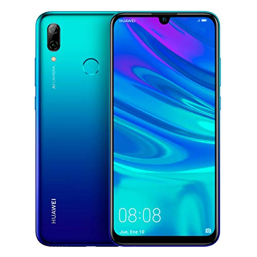 "Huawei P Smart 2019 - Smartphone de 6.2"", 3 GB RAM, 64 GB, 13 MP + 2 MP, Dual SIM, Funda incluida, Color Azul"