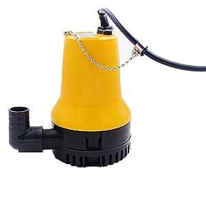 NUZAMAS Bomba de agua sumergible Clear Swimming DC 12V 50W 4200L / H Limpio Sucio Natación Limpio Piscina Estanque…