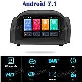 Android 7.1, Allwinner T3 GPS DVD USB SD WI-FI DAB+ TPMS MirrorLink Bluetooth Autoradio Ford Fiesta 2013 2014 2015 2016 2017