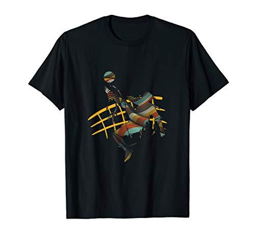 Bossaball Spieler Grafik Bossaballer Volleyball Sporttrainer T-Shirt
