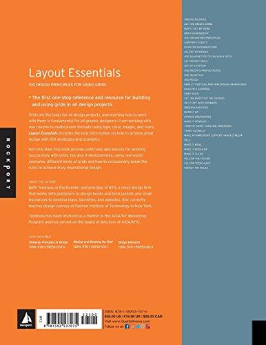 Layout Essentials: 100 Design Principles for Using Grids (Essential Design Handbooks)