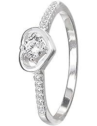 Vishal Jewellers Precious Silver Designer Ring For Women - B07BQWNVFC