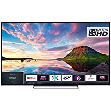 Toshiba 43U5863DB 43-Inch Smart 4K Ultra-HD HDR LED TV with Freeview Play - Black/Silver (2018 Model), enabled with Amazon Dash Replenishment