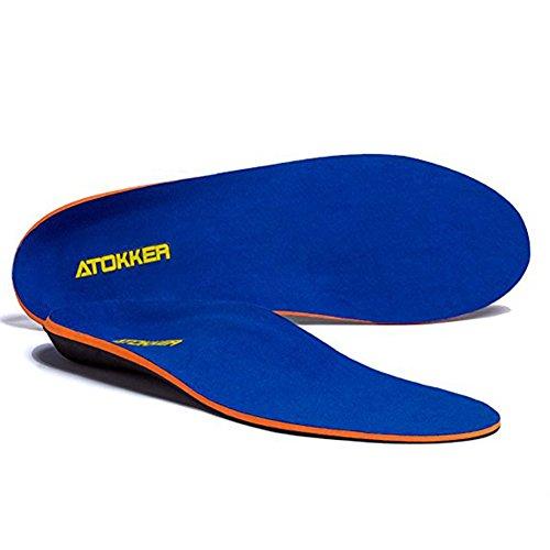 ATOKKER Orthese Einlegesohle Einlage Einlagen Schuheinlage Fußeinlagen für Senkfüße Senkfußeinlage Orthopädische Einlegesohlen für Männer und Frauen...