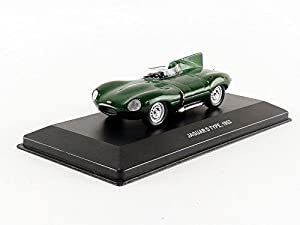 Solido-Jaguar Type D-1952Coche en Miniatura de colección, 4303000, Verde