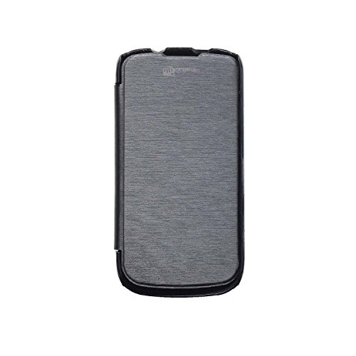 iCandy™ Flip Cover for Micromax Canvas Elanza A93 - Black  available at amazon for Rs.99